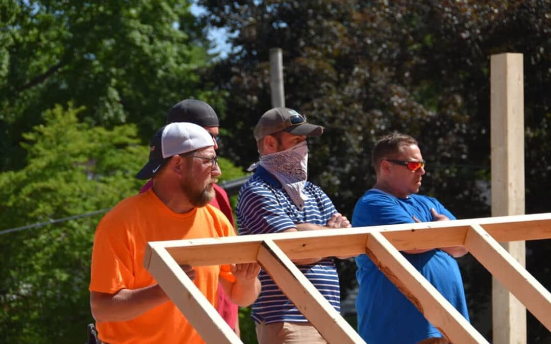 RESPITE HOUSE CELEBRATE NEW LOCATION WITH WALL RAISING